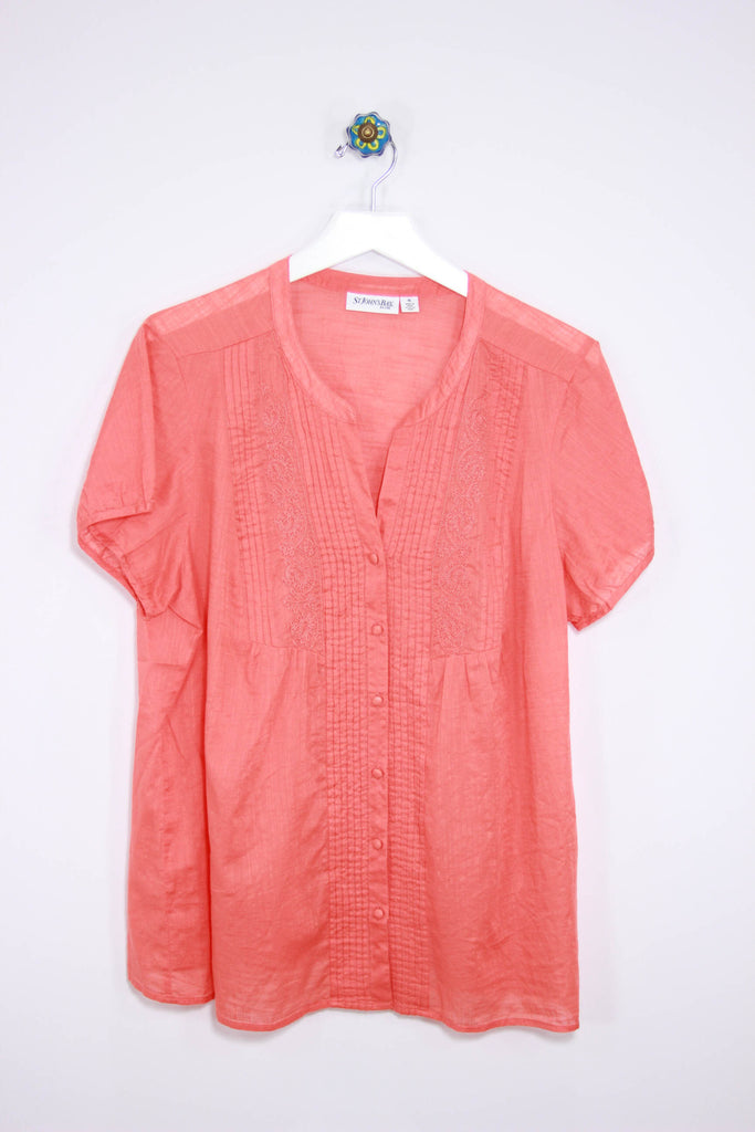 St. Johns Bay Size XL Peasant Top