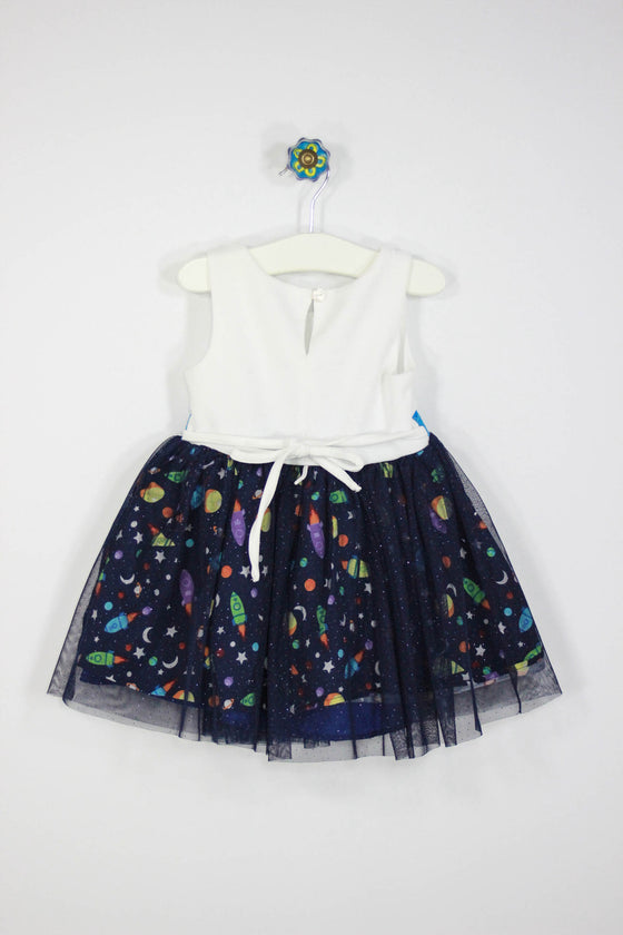 Sweet Heart Rose Size 2T Space Party Dress