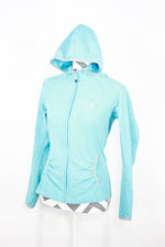 The North Face Size Small Teal Zip Up Hoodie