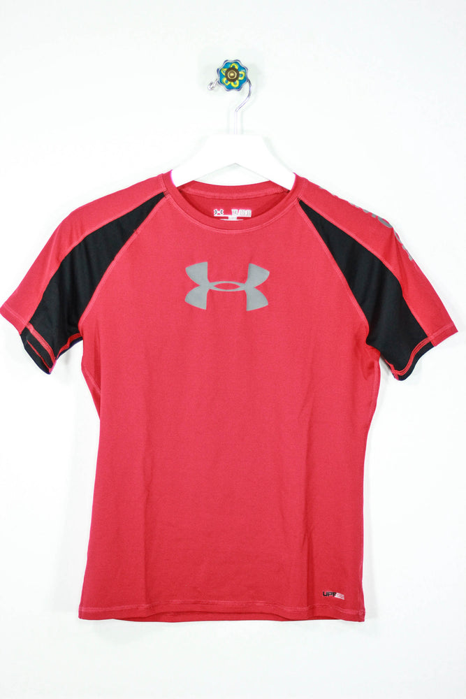 Under Armour Size Youth XL Heat Gear Fitted Tee