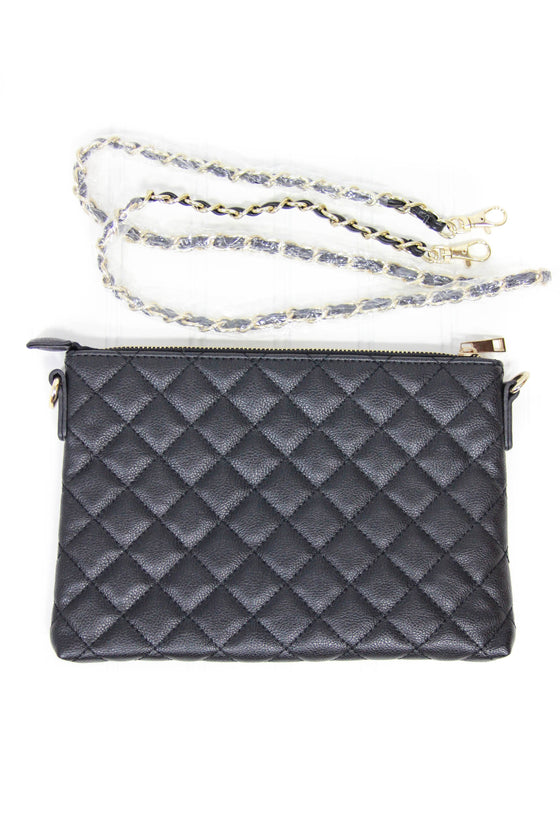 XXII Forever 21 Clutch with Removable Chain Strap