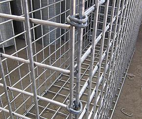 Galvanized Gabion Hog Rings (1,600/box)