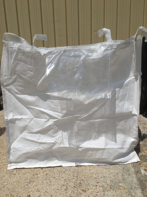 BB102-1 Bulk Bag 4 Pack- Plain Bottom 2,200 lb Capacity