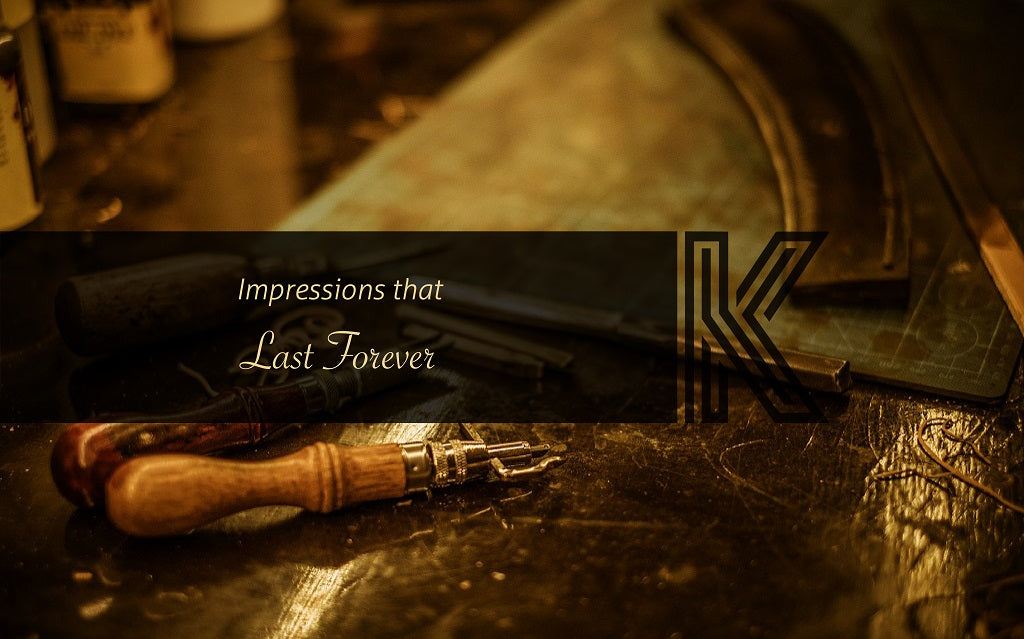 Impressions that last forever banner image of kalghi leather