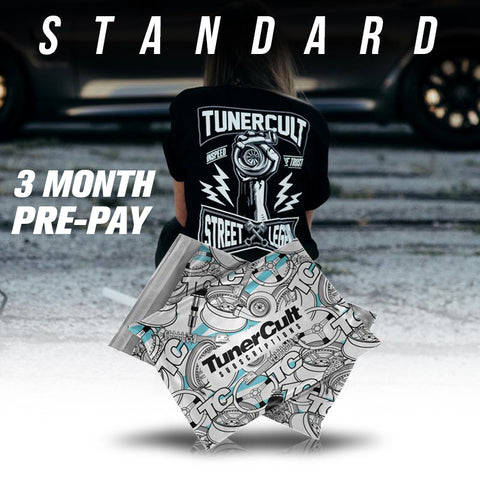 3 Month Pre-Pay Standard