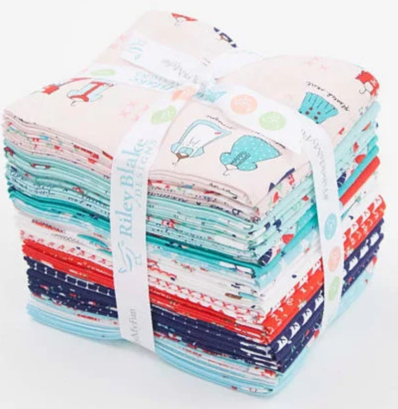A Little Sweetness Fat Quarter Bundle by Tasha Noel for Riley Blake Designs