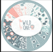 Wild One by Andrea Turk for Camelot Fabrics, , 15 pieces, jungle animals, baby, nursery