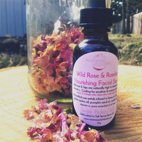Wild Rose & Rosehip Nourishing Facial Serum