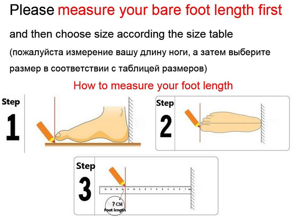 How to Measure You Feet