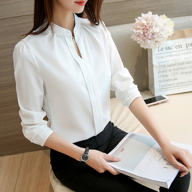 Easy Looks Placket Office Shirt