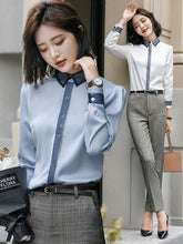 HUES Collar Shirt-Blouses & Shirts-[korean fashion]-[korean clothing]-[korean style]-SOO・JIN
