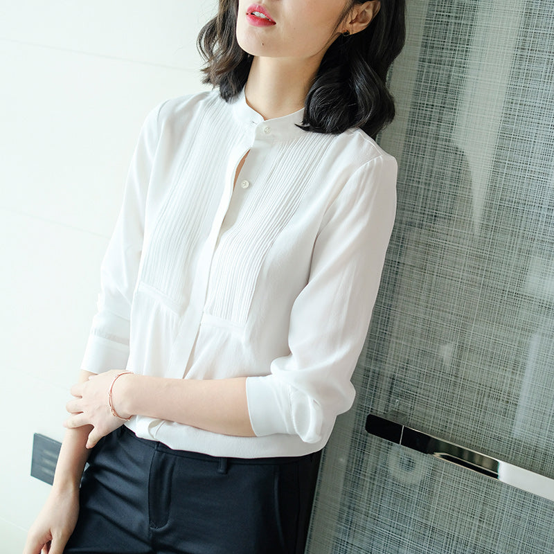 2019 Minimalism Top-Blouses & Shirts-[korean fashion]-[korean clothing]-[korean style]-SOO・JIN