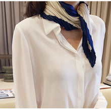 Lapel Look Office Shirt-Blouses & Shirts-[korean fashion]-[korean clothing]-[korean style]-SOO・JIN