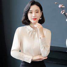 Smooth Feel Formal Top-Blouses & Shirts-[korean fashion]-[korean clothing]-[korean style]-SOO・JIN