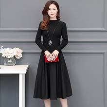 LA BLACK Midi Dress-Dresses-[korean fashion]-[korean clothing]-[korean style]-SOO・JIN