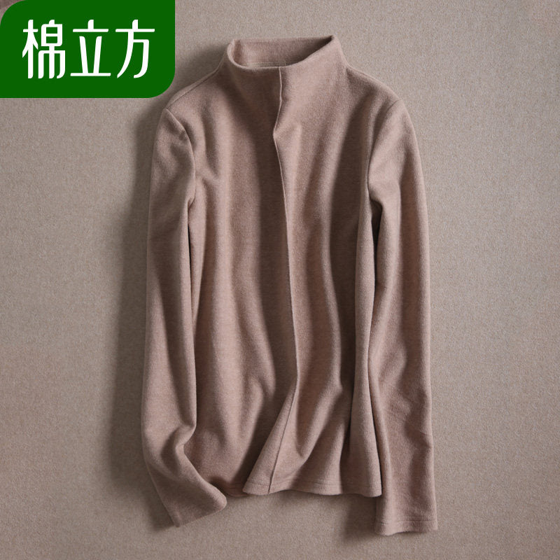 2019 Half Turtleneck Top-Blouses & Shirts-[korean fashion]-[korean clothing]-[korean style]-SOO・JIN