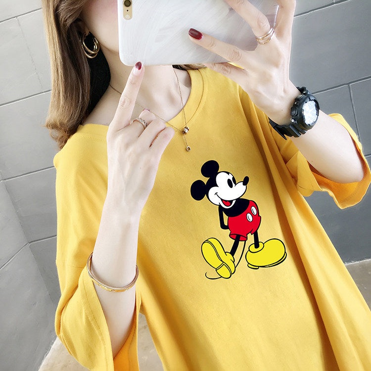 Mickey Mouse Anime Cute T-shirt