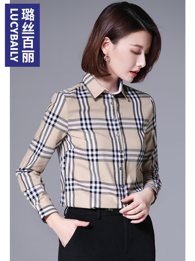 A15M Lucybaily Temperament Warm Shirt