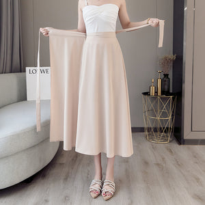 Extra Long Wrap-around Tie Skirt