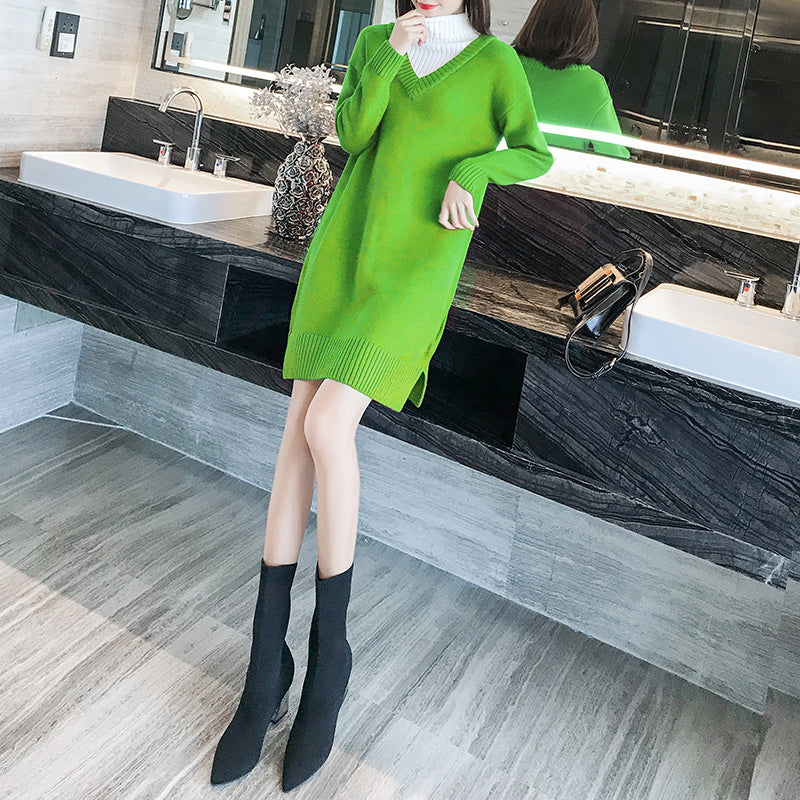 A11R Flexible Thick Soft Long Pullover