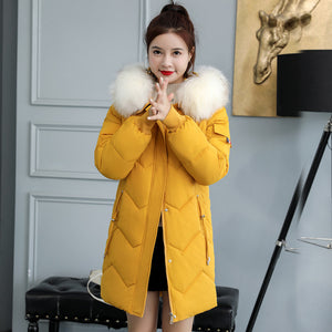Loose Long Padded Coat