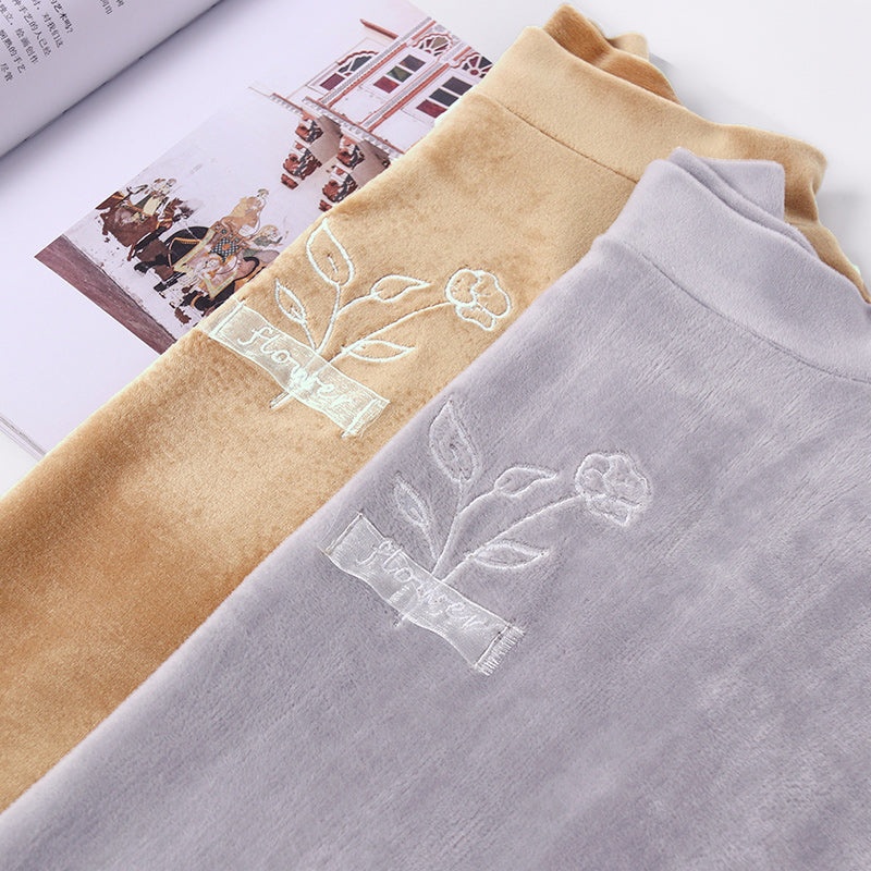 A14B Semi High-Collar Soft T-Shirt