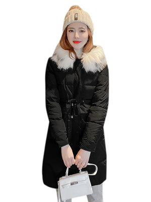 A11B Long Sections Knees Puffer Jacket