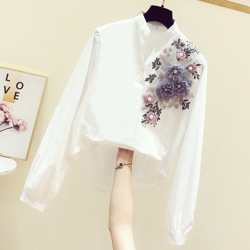 A15X Embroidered Three-dimensional Decorative Shirt