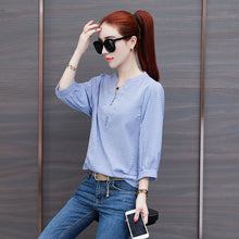 ALL DAYS V Cut Top-Blouses & Shirts-[korean fashion]-[korean clothing]-[korean style]-SOO・JIN