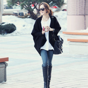 Solid Everyday Cardigan-Cardigans-[korean fashion]-[korean clothing]-[korean style]-SOO・JIN