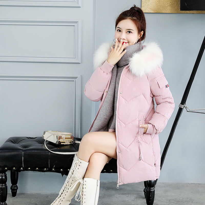 A11D Loose Long Down Padded Coat