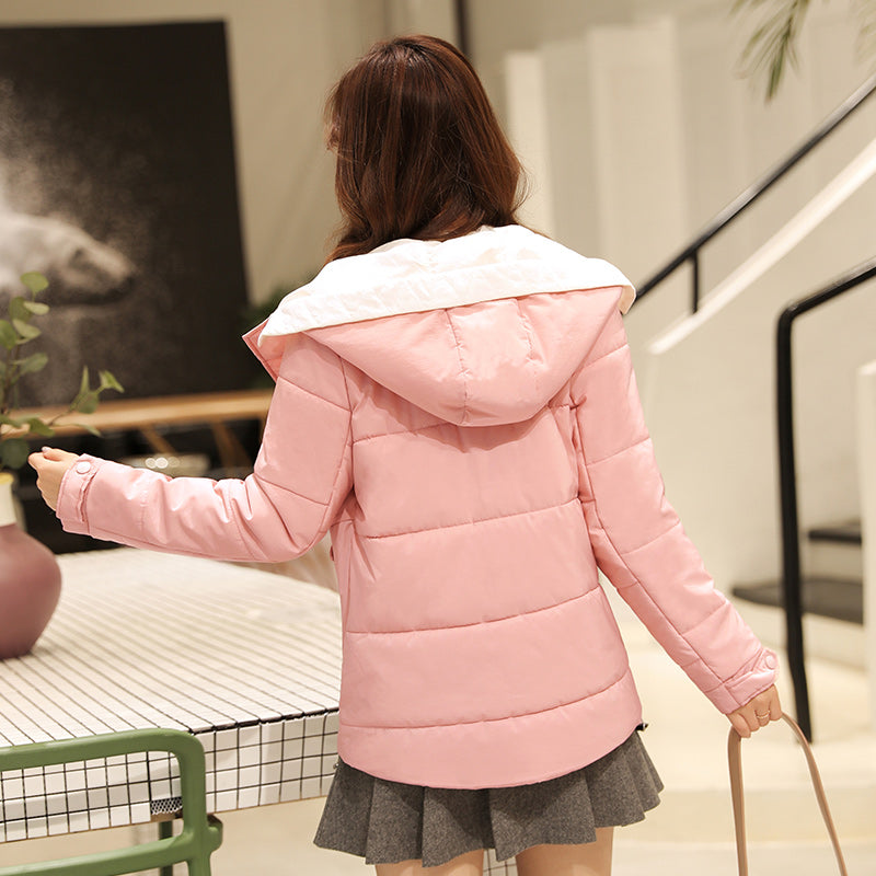 A11A Thick Warm Hooded Jacket