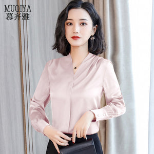 2019 New Spring Professional Shirt-Blouses & Shirts-[korean fashion]-[korean clothing]-[korean style]-SOO・JIN