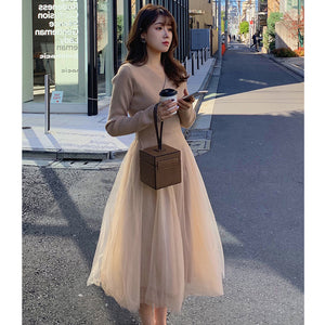 A19T French Fashion Lovely Dress