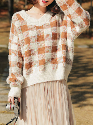 Picnic Time Pullover-Cardigans-[korean fashion]-[korean clothing]-[korean style]-SOO・JIN