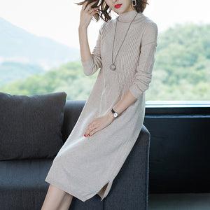 A17N H-type Loose Waist Soft Dress