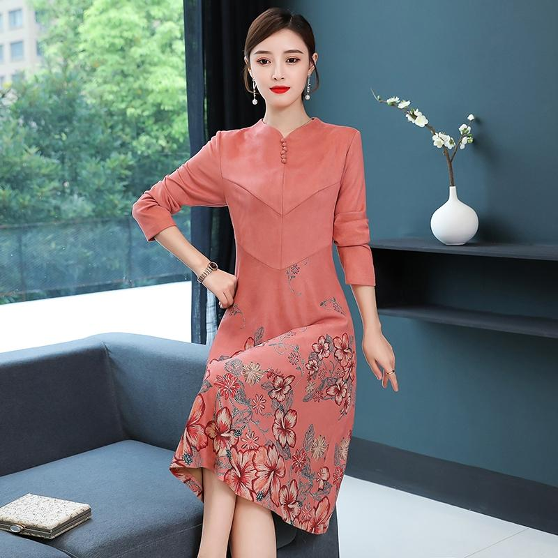 A17J High-End Foreign Style Dress