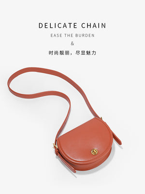 A32N Saddle shape Small Soft Women's Bag