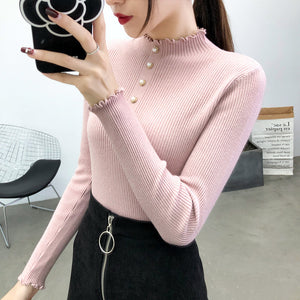 A12G High-Necked knit Pullover