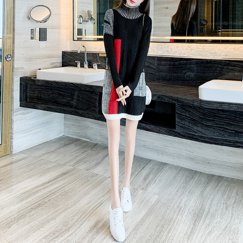 A11Q  Thick very Exquisite Long Pullover