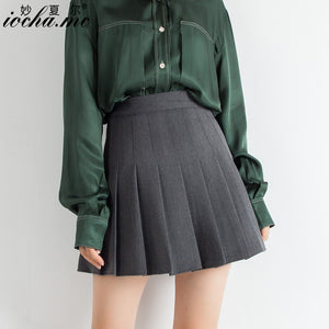 Suit tb Pleated Short Skirt