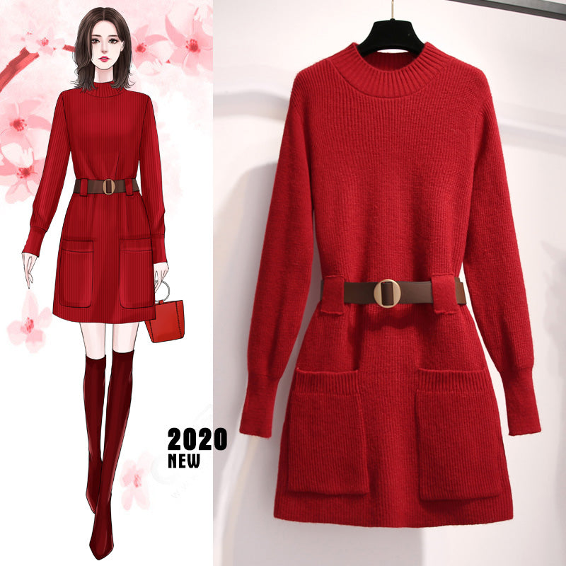 A17E Soft Loose New Spring Women Dress