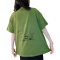 A37E Cartoon Anime on Back Short-sleeved T-shirt
