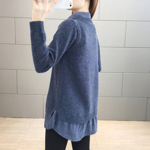 A12J Knit Sweater Type Shirt