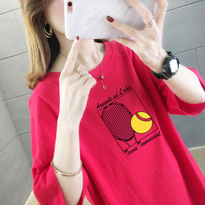 Tennis Ball Anime Short Sleeve Shirt