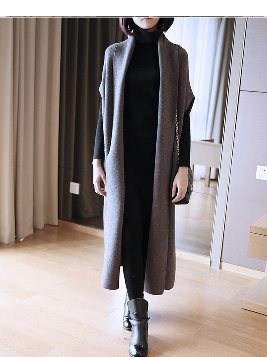 Robe Style Cardigan-Cardigans-[korean fashion]-[korean clothing]-[korean style]-SOO・JIN