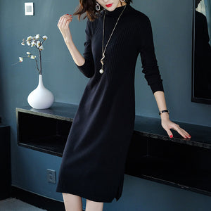 H-type Loose Waist Soft Dress
