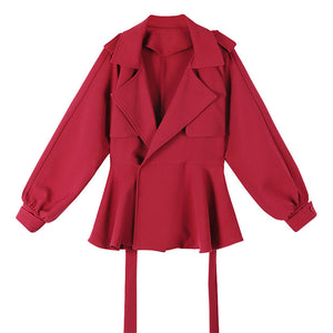 A26X Leisure Thin Little Coat