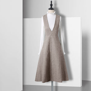 Nordic Style Strap Dress