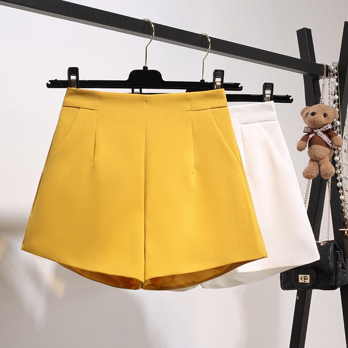 Raised-Sides Mini Skirt-Bottoms-[korean fashion]-[korean clothing]-[korean style]-SOO・JIN